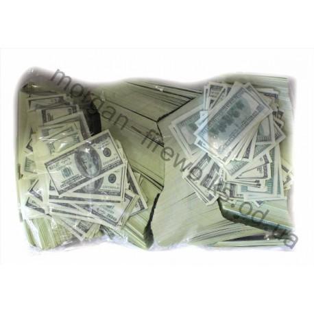 Конфети метафан доллары 1 кг