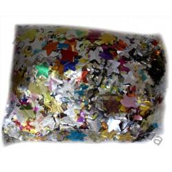 Конфети метафан фольгированые звезды1 кг