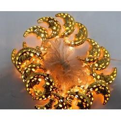 Гирлянда Месяц Золото LED 20