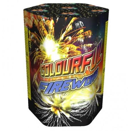 COLOURFUL FIREWORKS Красочный фейерверк (GWM 5046)