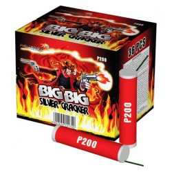 BIG BIG SILVER CRACKER Р 200