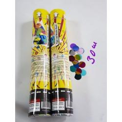 Хлопушка Confetti Circles 30 см. (CM032)