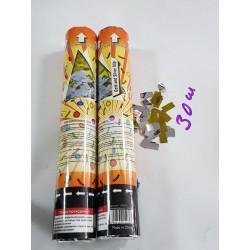 Хлопушка Confetti Rectangles 30 см. (CM033)