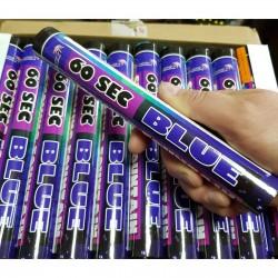 Цветной дым - Синий 60 сек