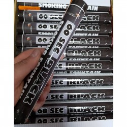 Цветной дым - Черный 60 сек