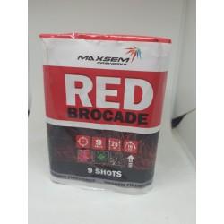 RED BROCADE Красная парча GW 218-73