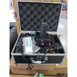 Пиротехнический пульт на 12 каналов с аккумуляторами (Китай)