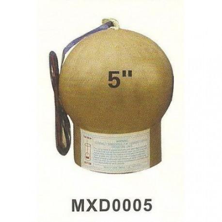 BROCADE GREEN RING GOLDEN STROBE PISTIL 5 дюймов
