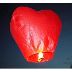 Небесный фонарик сердце
