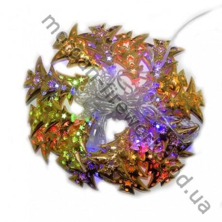 Гирлянда Ёлка Золото LED 20