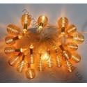 Гирлянда Пружина Золото LED 20