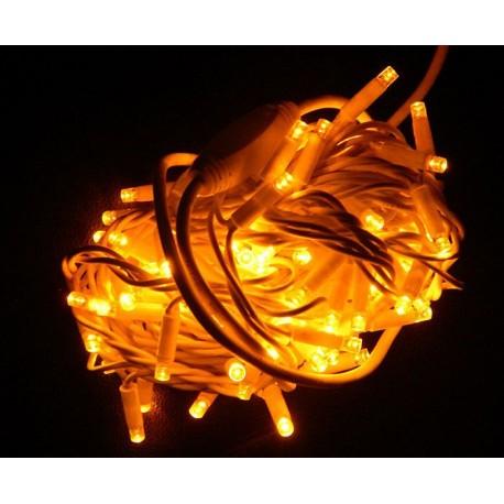 "Гирлянда ""Нить"" уличная LED 100, жёлтая (1-50)"